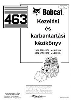 BOBCAT 463 kezelési útmutató