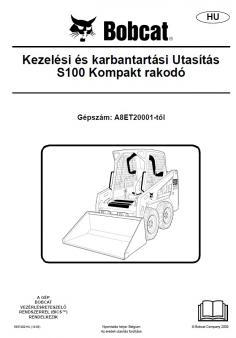BOBCAT S100 Interim Tier 4 kezelési útmutató