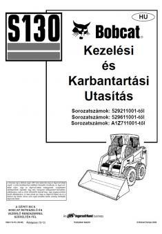 BOBCAT S 130 Interim Tier 4 kezelési útmutató