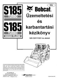 BOBCAT S 185 Interim Tier 4 kezelési útmutató