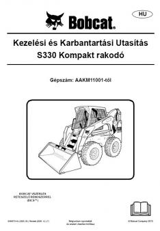 BOBCAT S 330 [H] TIER 3 kezelési útmutató