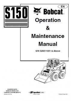 BOBCAT S 150 Interim Tier 4 kezelési útmutató
