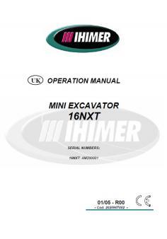GEHLMAX IHI 16 NXT kezelési útmutató
